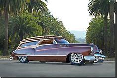 "doyoulikevintage: "" 1950 - Buick Woody Wagon """