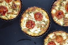 Roasted Tomato, Feta and Rocket Quiche from Life's a Feast
