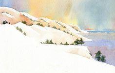 Robert Regis Dvorak - holiday watercolor