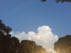 #fluffyclouds #star #rainbow #streetlights
