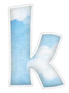 Lindo Alfabeto con Diferentes Texturas o Papeles.=