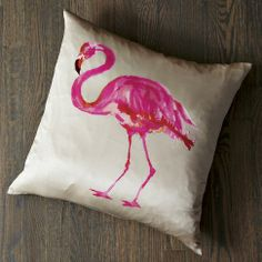West Elm Flamingo Pillow, http://www.westelm.com/products/flamingo-pillow-cover-t169/?pkey=cbedding-sets