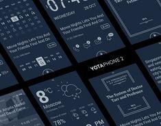 YOTAPHONE 2: UX & UI for dual-screen phone