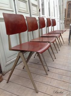 Interior design | decoration | home decor | furniture | Vintage chairs - Vintage chairs - Industrial - Burbri