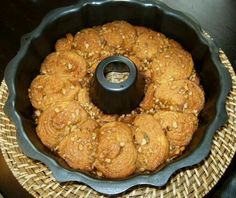 Crescent Caramel Cinnamon Swirls using Pillsbury crescent rolls