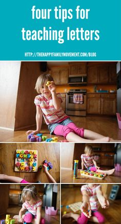 four tips for teaching letters to toddlers and preschoolers