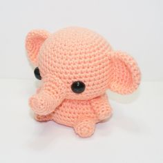 Little Elephant by Heartstringcrochet.deviantart.com on @DeviantArt