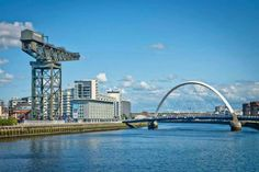 The River Clyde , Glasgow