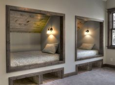 Built in bed kids rustic with built in storage built in beds