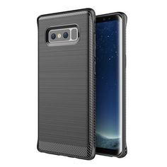 TPU Soft Silicone Armor Case Protective Cover For Samsung Galaxy Note 8 Black Samsung Galaxy Note 8/ Note8 cases products shops store buy for sale  website online shopping free shipping accessories  phone covers beautiful gifts AuhaShop.com protective