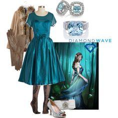 """Blue princess"" by maria-kuroshchepova on Polyvore"