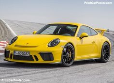 Porsche 911 GT3 2018 poster, #poster, #mousepad, #tshirt, #printcarposter
