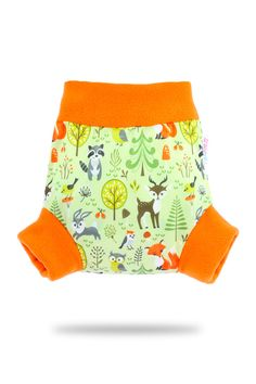 Forest Animals – Pull-Up Cover   Petit Lulu