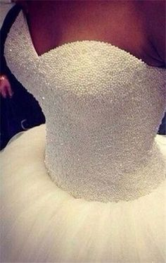 princess wedding dress, love the top details