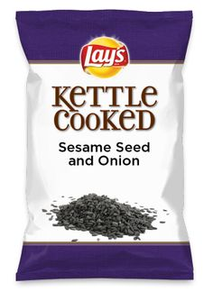 Wouldn't Sesame Seed and Onion be yummy as a chip? Lay's Do Us A Flavor is back, and the search is on for the yummiest chip idea. Create one using your favorite flavors from around the country and you could win $1 million! https://www.dousaflavor.com See Rules.