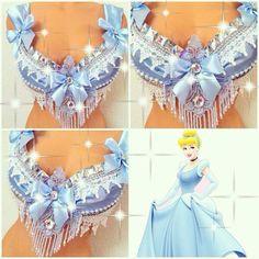 Cinderella Rave Bra by TheLoveShackk on Etsy