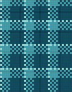 scottish tartan - cross stitch chart