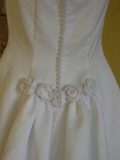 White wedding dress  white bridal dress  D by LaBargainBoutique, $99.00