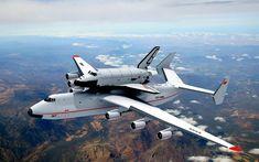 Antonov An-225 Mrija with Space Shuttle