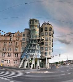 Ginger and Fred - The Dancing House, Prague