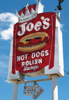Joe's Hot Dogs, Joliet, IL ... A staple in the community at Joliet's 6-Corners Stoplight on Plainfield Rd. (Rte. 30).  Learn more about business and the economy at http://electryanalm.webs.com/apps/blog/