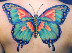 | durbmorrison.com First Tattoo, I Tattoo, Cool Tattoos, Tatoos, Amazing Tattoos, Butterfly Images, Butterfly Tattoos, Tattoo Designs, Tattoo Ideas