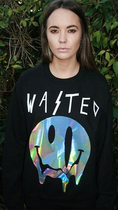 WASTED pastel grunge sweater jumper