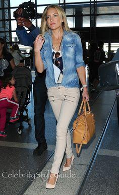 SHOP Paige EDGEMONT ULTRA SKINNY PAIGE DENIM Seen On Kate Hudson