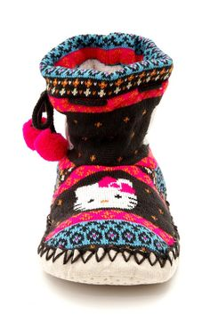HELLO KITTY MOCCASIN SLIPPERS @Heather Gallay will die for these!!!