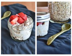 Easy Yogurt Overnight Oats 1/2 cup old-fashioned or rolled oats 100 gram yogurt cup, any flavour 3 tbsp milk