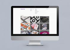 Website for print production studio Cerovski designed by Bunch