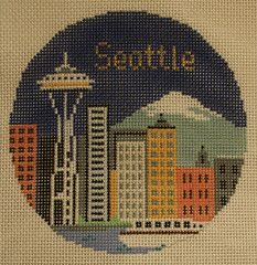 Seattle Ornament- for E.C.E