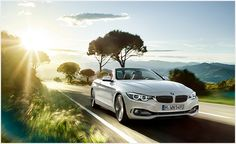 Makes its mark with convertible driving experience and aerodynamic design: Experience the BMW 4 Series Convertible. Bmw Serie 4, Bmw 4 Series, New Bmw, Luxury Branding, Convertible, Highlights, Templates, Cars, Brazil