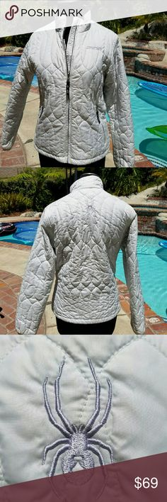 Ski jacket White Spider ski jacket. Excellent condition. Spyder Jackets & Coats