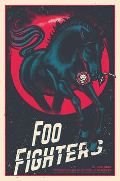 The poster is made for the Foo Fighters concert at Trabrennbahn Bahrenfeld in Hamburg on the of June Limited edition of 500 prints, 3 colors pulled by hand in a studio in Hamburg. Foo Fighters Poster, Foo Fighters Dave Grohl, Tour Posters, Band Posters, Design Posters, Manado, Concert Festival, Country Music Quotes, Game Concept Art