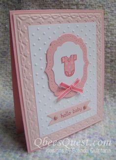 """Qbee's Quest: Baby Bundle Card **** SU """"Baby Bundle"""""""