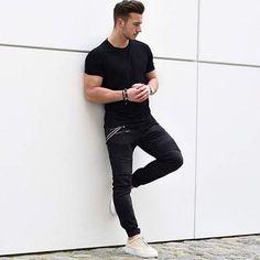 Look básico|@moda.homem | #modamasculina #modaparahomens #men #mens #menstyle #mensfashion #streetfashion #streetstyle #stylish #style #itboy