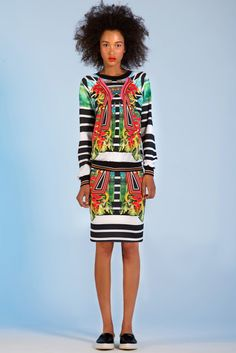 Designer Rozae Nichols created eclectic digital prints for her Clover Canyon Resort collection