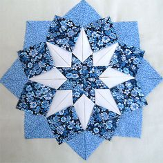 somerset patchwork | Étoile pliée (artichaut ou Somerset patchwork) - Rencontres 2009 de ...
