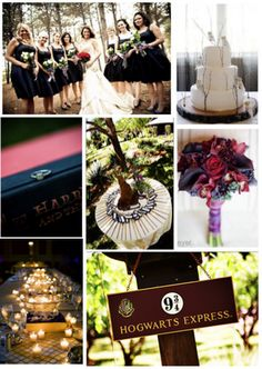 Harry Potter Wedding Inspiration Board - YES!!!!!!!!!!!!!!!!!!!!!