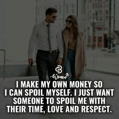"What a REAL woman wants. A ""gold digger"" only wants you for your money. Know the difference!"