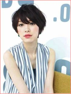 The Messy Short Bangs Hairdo, Messy Short Hairstyle with Averted ...