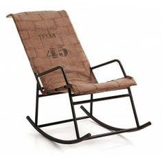 Gewoon lekker achterover zitten en heerlijk schommelend wegdromen in deze mooie schommelstoel.