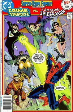 Super-Team Family Crime Syndicate vs Spider-Man