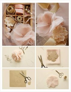 romantic antike wedding boquet | ... Flower Crafts — Wedding Ideas, Wedding Trends, and Wedding Galleries