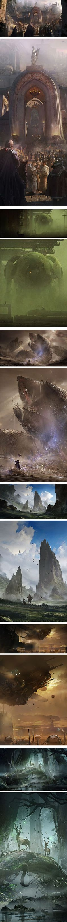 Eduardo Pena --------------------------------------------------------------------- Big scale environments, interesting to look at