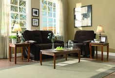 Homelegance 3489-31 Barnaby Collection Color Oak