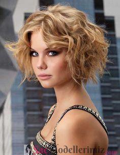 Dalgalı kısa saç modelleri 2017 saç renginizin fark etmediği ve doğru kesilmiş saç modellerinin hepsine yakışan dalgalı ve kısa olan kusursuz bir havası