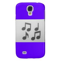 Aggelikis Simple Music Notes Design Galaxy S4 Covers