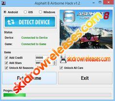 Asphalt 8 Airborne Hack v1.2